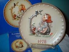 Goebel Hummel Happy Pastime #271 1978 Limited Edition Plate New! ~V$100