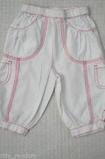 Pantaloni bianchi per bambine dai 2 ai 16 anni