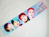 SHINEE KPOP Photo Cheer Slogan Towel MinHo TaeMin Onew JongHyun Key Korean Goods