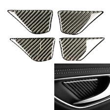Carbon Fiber Door Handle Bowl Cover Trim Fits Mercedes Benz C Class W205 14-18