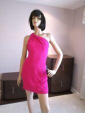 Saint Laurent Pink Dress One Shoulder French 42 $2490