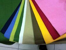 Tovagliolo Cotone Tinta Unita 40x40 cm [4PZ TOVAGLIOLI] 100% Cotone Vari Colori