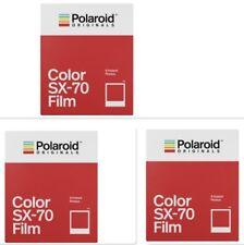 3 x POLAROID COLOR SX-70 SOFORTBILDFILM !! NEUHEIT von Impossible !! PX 70 SX70