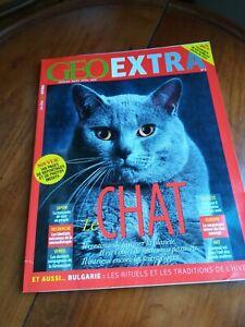 GEO EXTRA SPECIAL CHATS DU MONDE CATS 2016-148 pages de reportages et de photos