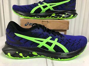 Asics Dynablast Knit HALLOWEEN Black Green Purple 10.5 1011B125 001 Running Shoe