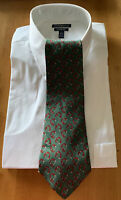 GUCCI Men's Tie Made in Italy 100% Silk Green