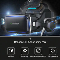 Virtual Reality 3D VR Headset Glasses 360 Panoramic for iPhone Android SamsungLJ