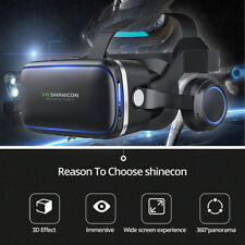 Virtual Reality 3D VR Headset Glasses 360 Panoramic for iPhone Android SamsungNT