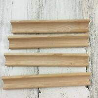 Set of 4 Scrabble Wooden Tile Racks Holder Replacement Game Pieces Part Crafts