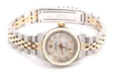 Rolex Ladies 2tone Oyster Perpetual Watch - MOP Diamond Dial - Jubilee Band