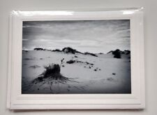 Sand Dunes of New Mexico, Black & White Photo Greeting Card, Blank Cards ⛵🌴