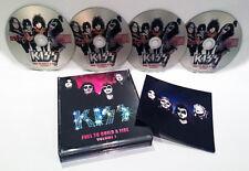 KISS VOL. 1 FUEL TO BUILD A FIRE 4 CD