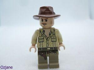 LEGO MINIFIGURE IAJ020 INDIANA JONES OPEN SHIRT RAIDER OF THE LOST ARK