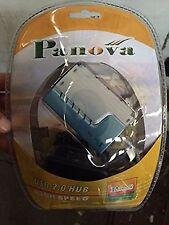 Panova 4 Port USB 2.0 High Speed Hub w/ External Power Supply PC Windows Mac USA