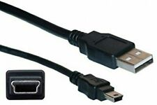 0.5 Meter MINI USB Cable Sync & Charge Lead Type A to 5 Pin B Phone GPS Charger