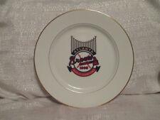1995 Atlanta Braves World Series Champions Plate With Stand Tom Glavine MVP