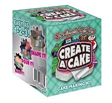 Create a Cake The Shapeable Pan Cake Making Kit for All Ages Baking Decorating