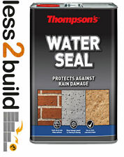 RONSEAL THOMPSONS WATER SEAL CLEAR WATERSEAL PROTECTION 5L LITRE WATER SEALER