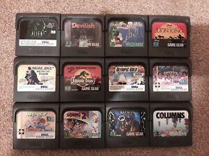 Sega Game Gear Games