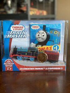 *New* 2020 THOMAS & FRIENDS Trackmaster Motorized 75th CELEBRATION THOMAS & Book