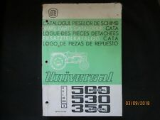 UTB UNIVERSAL TRACTOR 500 SPECIAL - 530 - 350 SPECIAL Parts Catalogue Manual OEM