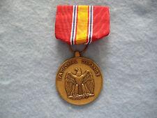 VINTAGE NATIONAL DEFENSE MEDAL-RIBBON-KOREA-VIETNAM-PERSIAN GULF-GLOBAL WAR