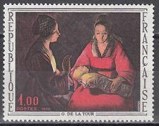 """Frankreich / France Nr. 1552** Georges de La Tour """"Das Neugeborene"""""""