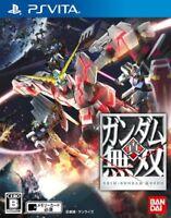 USED PS Vita Shin Gundam Musou Japan Import game soft
