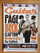 The Guitar Magazine - Oct 2002 Yardbirds Disturbed Roger Glover ++