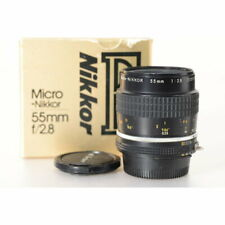 Nikon MICRO-NIKKOR AI/S 55mm 1:2 .8 - Nikkor Micro objetkiv 2,8/55 - #jaa616ab