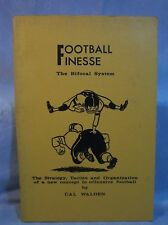 RARE VINTAGE FOOTBALL BOOK FOOTBALL FINESSE CAL WALDEN