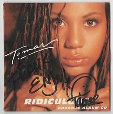 Tamar Braxton Ridiculous Autographed Ultra Rare 1999 CD Braxton Family Values