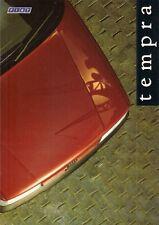 Fiat Tempra Saloon 1990-91 UK Market Sales Brochure 1.4 1.6 1.8 Tds S SX