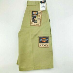 "Dickies Men's Work Shorts 13"" Loose Fit Multi Pocket Size 30 Khaki RRP $94.95"