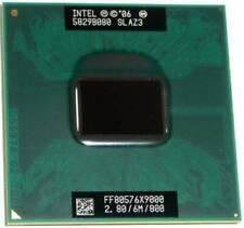 Intel Core 2 X9000 6MB 2 threads 2 cores Cache 2.80GHz 800 MHz CPU processor