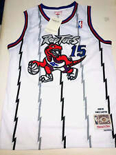 Vince Carter Toronto Raptors 15 NBA Basketball Swingman Jersey Shirt White