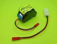 6V 1600ma BATTERY  FOR TRAXXAS T-MAXX + PEAK CHARGER / MADE IN USA