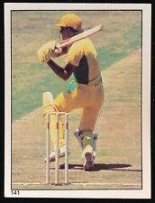 1982 Scanlens Cricket Sticker unused number 141 Rick Darling
