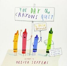 El día que el Crayones renunció por Bestseller Drew Daywalt 2014 Edición Libro De Bolsillo