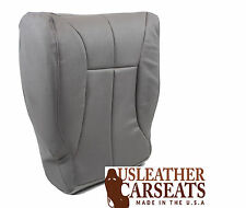2000 2001 Dodge Ram 1500 SLT Driver Bottom Synthetic Leather Seat Cover Gray