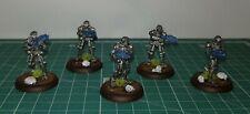 28mm Copplestone Terminator Miniatures 5 Painted Figures