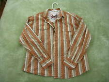 men's western shirt from SCULLY, M, wrangler rodeo ranch horse farm outdoor