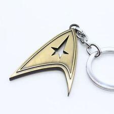 Keychain / Porte-clés - Star Trek Logo Metal Gold