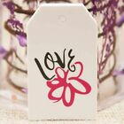 Gift Love Tags Packaging Wrapping Hanging Kraft Tag Paperbpard 100 Pcs/Lot Tools