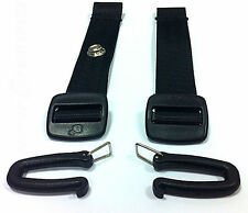 NEW QUINNY  SEAT BELT EXTENSION HARNES STRAP BLACK 15cm FOR BUZZ ZAPP ZAPP XTRA