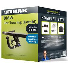 Anhängerkupplung abnehmbar BMW 3er Touring +Elektrosatz KIT kpl. NEU inkl. EBA