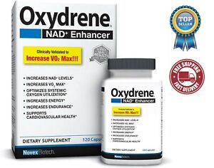 Novex Biotech Oxydrene NAD+ Enhancer, 120 Capsules