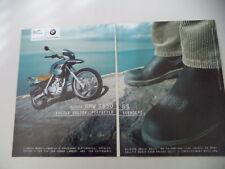 advertising Pubblicità 2000 MOTO BMW F 650 GS