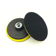 1X Polisher Self-adhesive Backing Pad Angle Grinder Wheel Sand Disc Black+Yellow