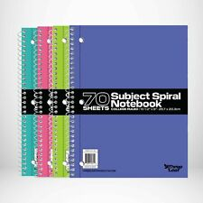 24 Pack Of Spiral 1 Subject Notebook 70 Sheets College Ruled 10 12 X 8 12